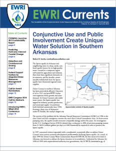 Conjunctive Use and Public Involvement Create Unique Water Solution in Southern Arkansas
